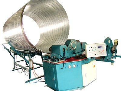 spiral duct machine