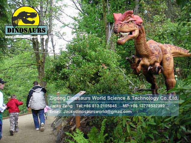 Dilophosaurus ride Artificial Dinosaur
