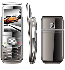 Curved slide mobile phones,dual sim mobile phones ZG806