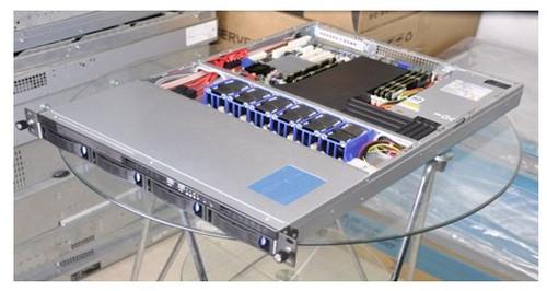 1U rack mount server case  GX1004