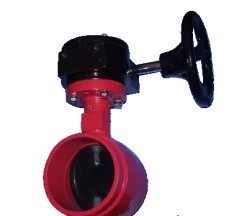 CAST IRON OR DUCTILE IRON GROOVE ENDS BUTERFLY VALVE