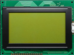 128X64 graphic lcd module ,75x52.5 size,COB,with led backlig