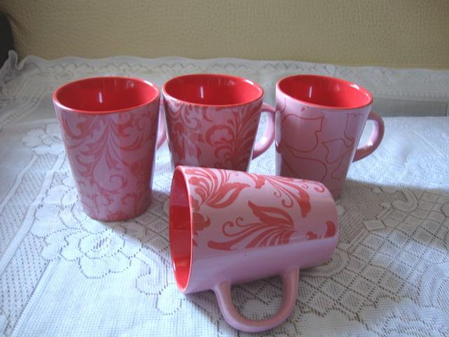 Decorated Cup Decorated Cupceramic