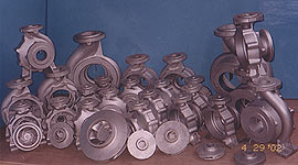 Pump Casing And Impellers