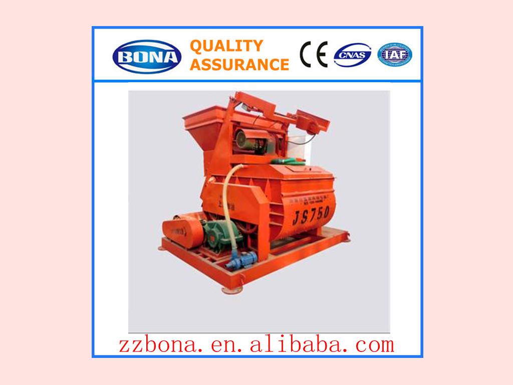 Good Quality concrete mixer machine JS750