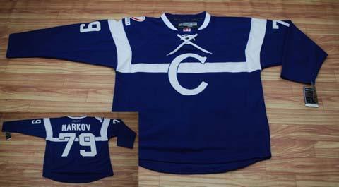 nhl jerseys #79,C BULE Canadiens MARKOV