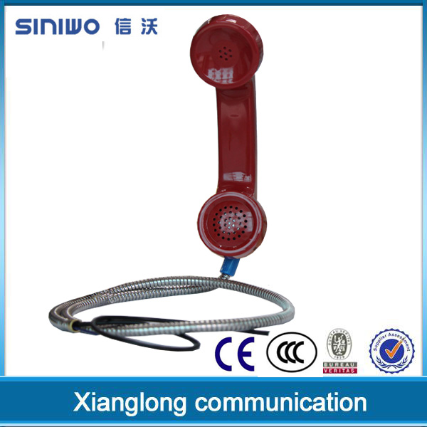 vintage plastic telephone handset A14