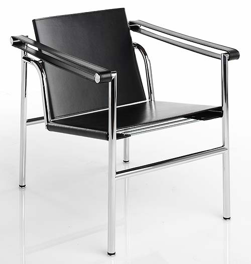 Basculant chair lc1 design chair - Fauteuil design le corbusier ...