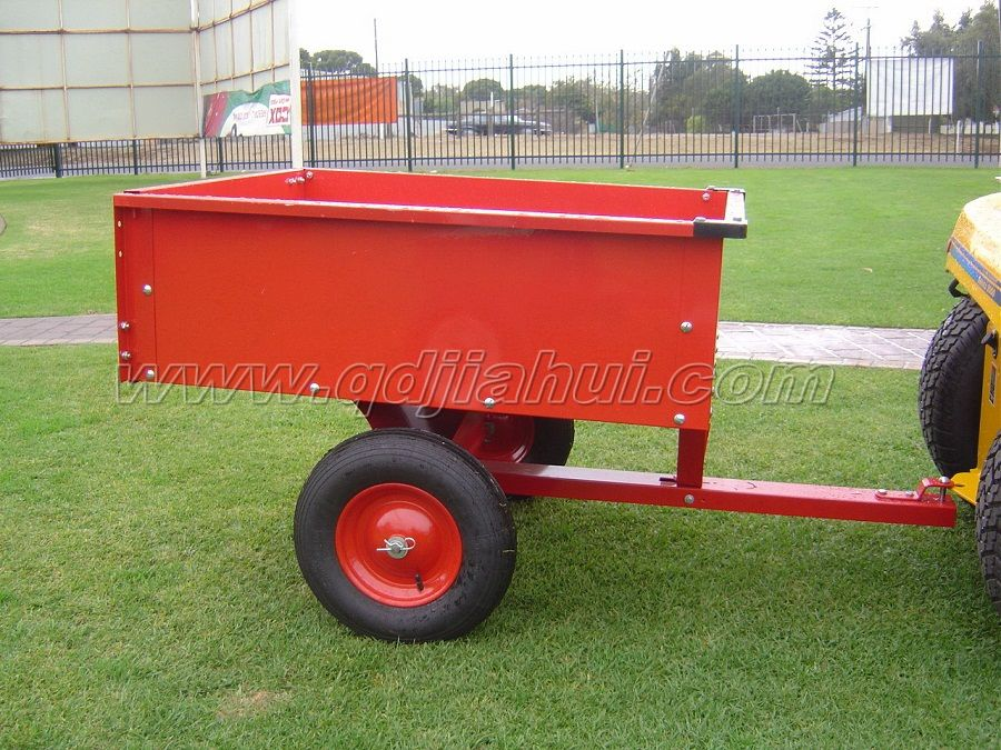 atv garden dump cart and trailer