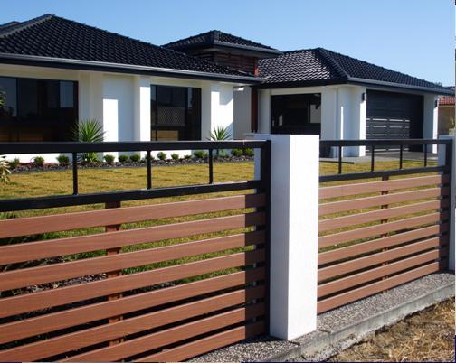 WPC Garden Fence ,wood plastic...