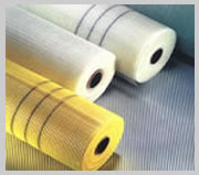 Alkali-resistant fiberglass mesh cloth