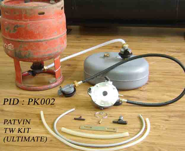 Gas Conversion kit for 2 wheeler