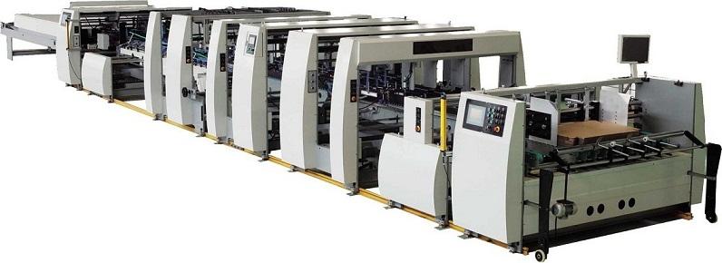 Fully Automatic High Speed Folder Gluer Machine