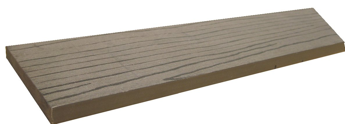 Wood plastic wpc decking floor lhma018 wpc decking for Plastic wood flooring