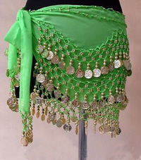 Belly Dance Costumes, Hip Scarves
