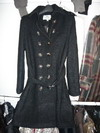 woman burberry long overcoat
