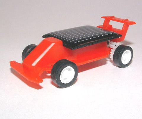 F1 mini solar car