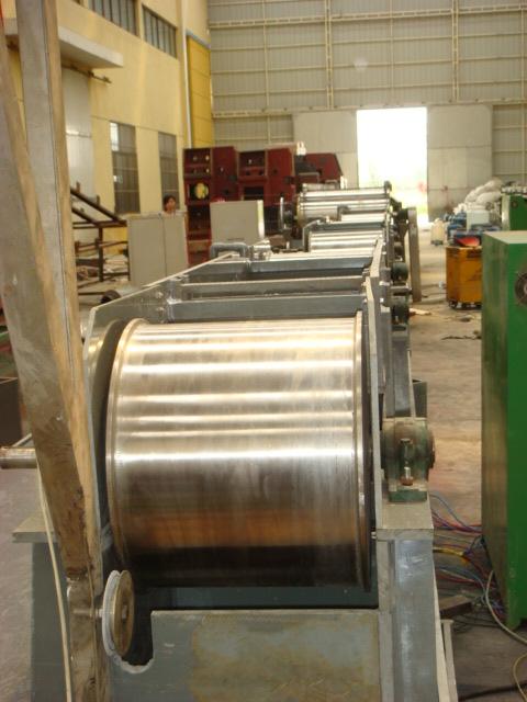 Copper coating machine