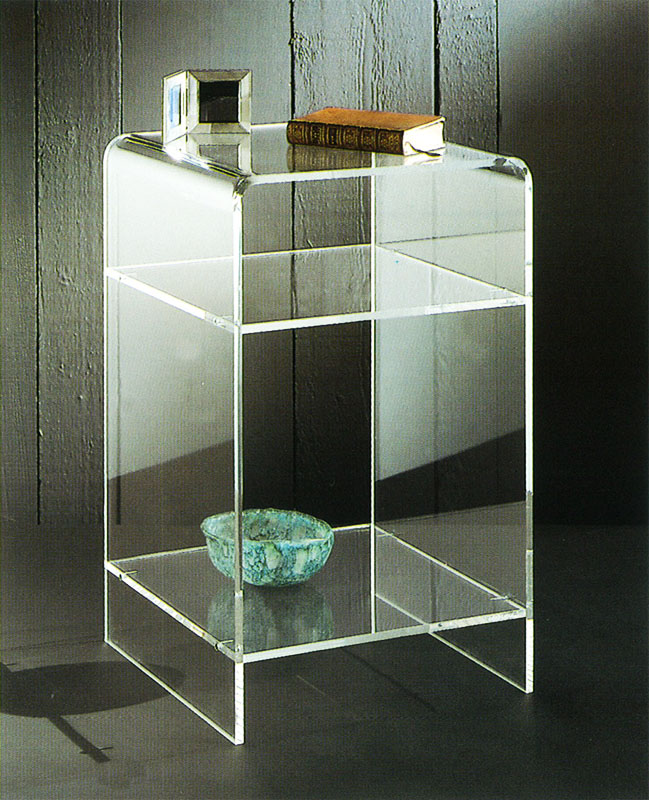 Clear Acrylic Contracted Side Table Acrylic Side Table