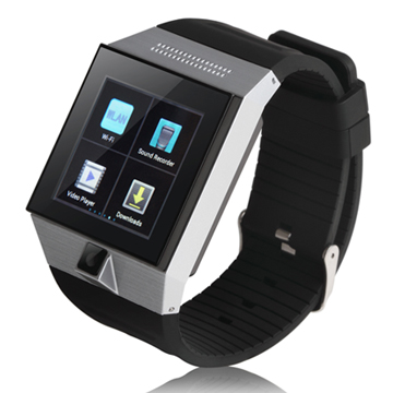 Android smart watch phone with Fifi MTK6577 dual core