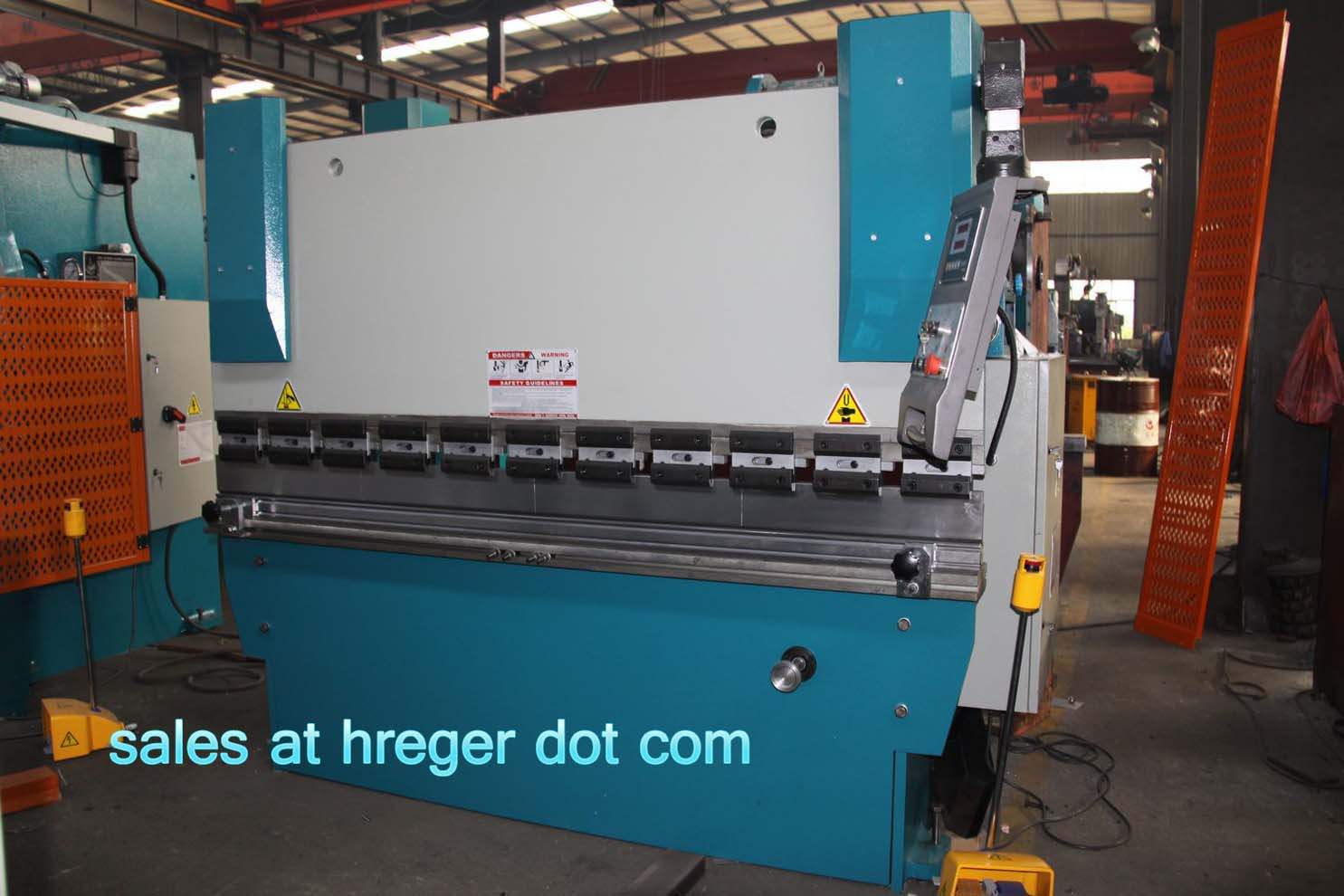 Press brake with e10 system WC67Y- 125Ton/ 3200mm