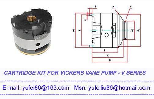 Cartridge kits for Vickers V vane pump,Vickers cartridge kit