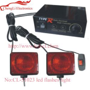car Led flashes light