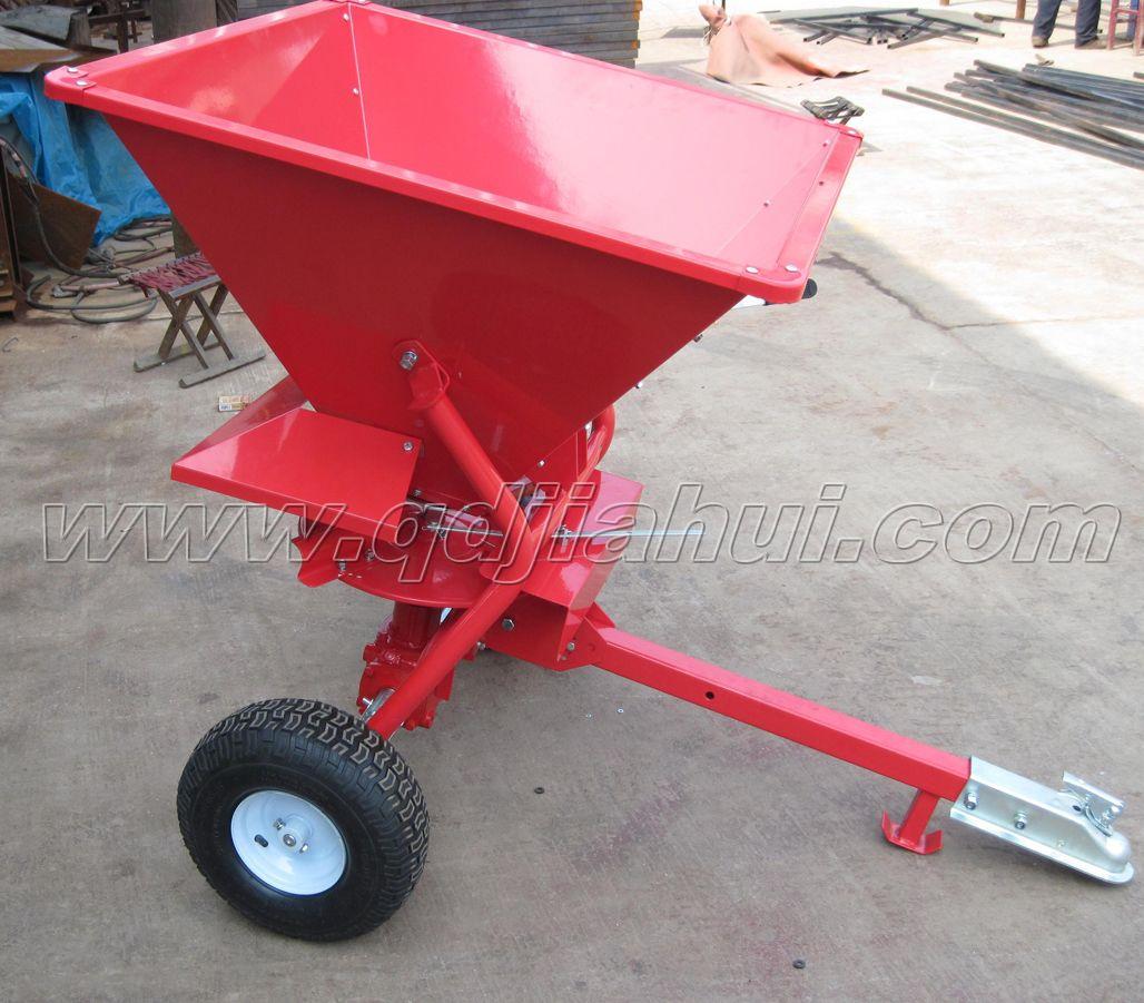 Atv seed sand salt and fertilizer spreader atv spreader