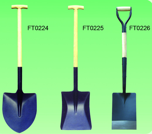 Shovel with Handle