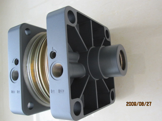 pneumatic components (pneumatic cylinder end cap)