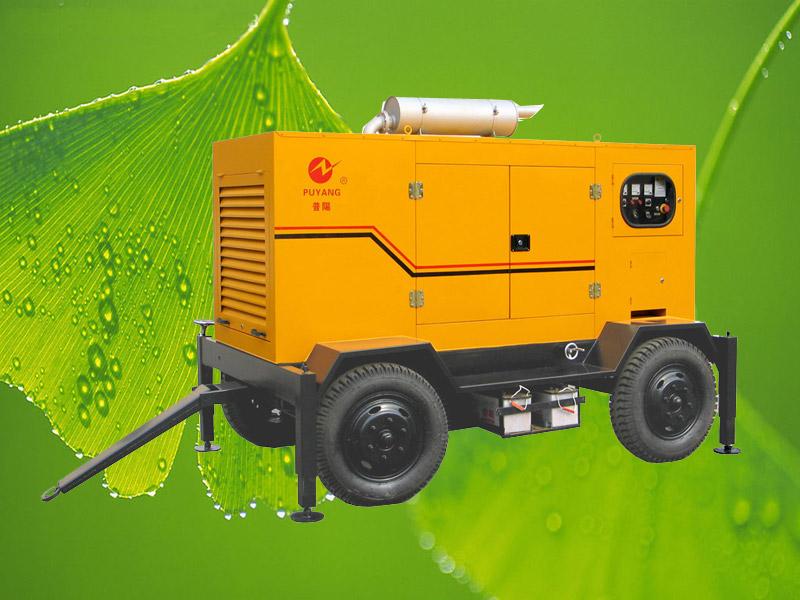 Generator/trailer diesel generator
