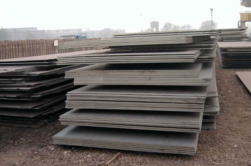 building construction steel plate