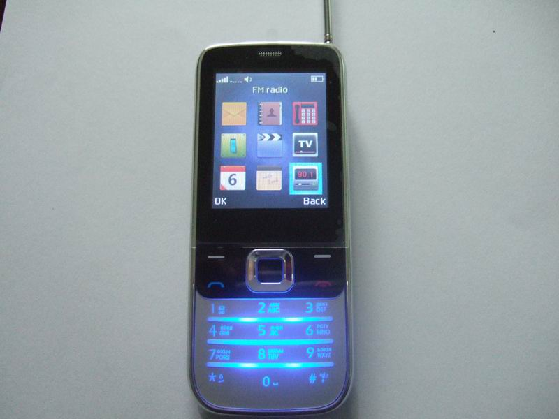 Lowest price quad band cell phone W2730