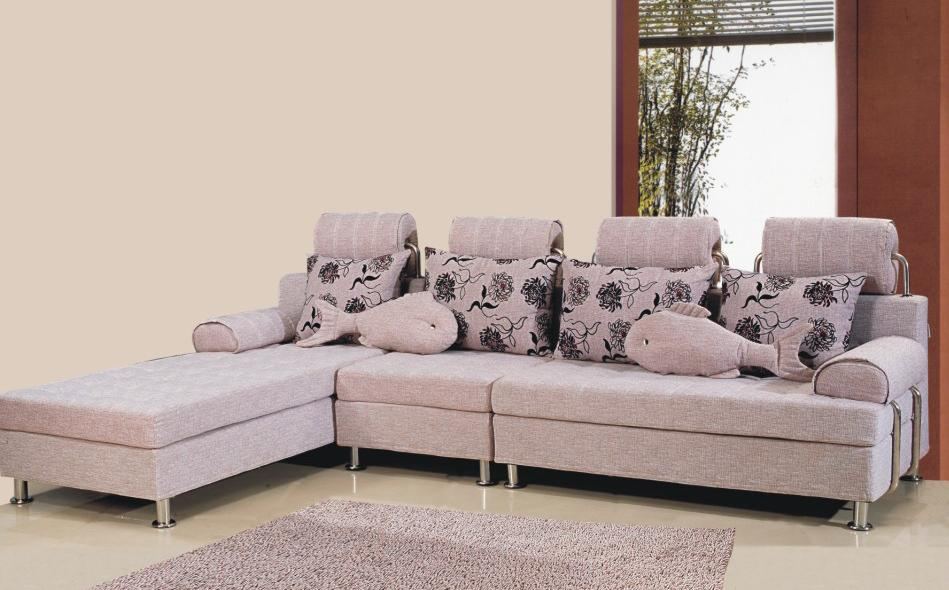 Fabric sofa modern sofa l sofa stylish sofa furniture for Stylish modern furniture