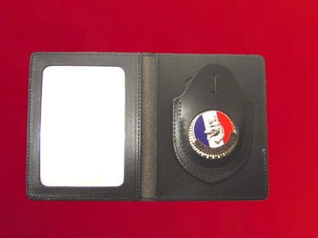Leather Badge Holder, Police Wallets & Purse