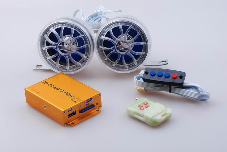 Motorcycle MP3 player product