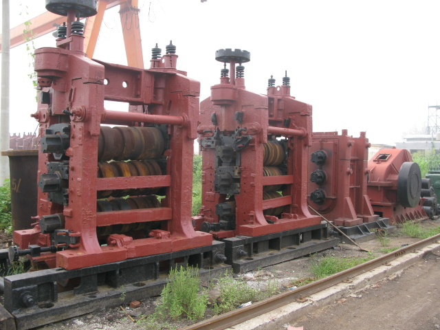 Steel Rolling Mill : Steel rolling mill and parts