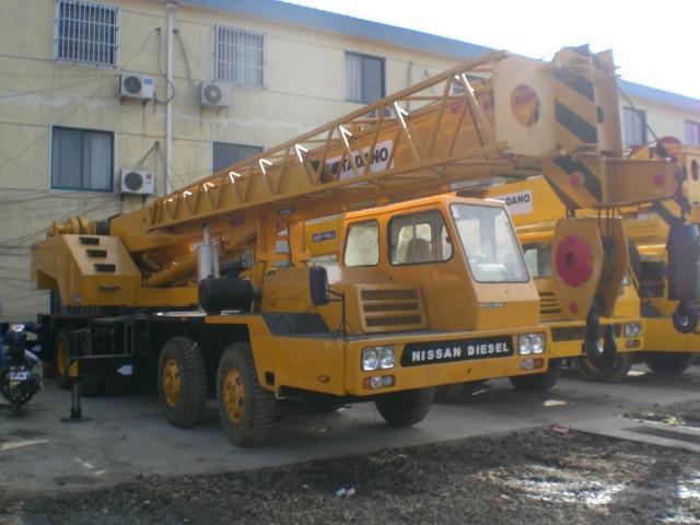 used Tadano TG 450E truck crane,used tadano machinery