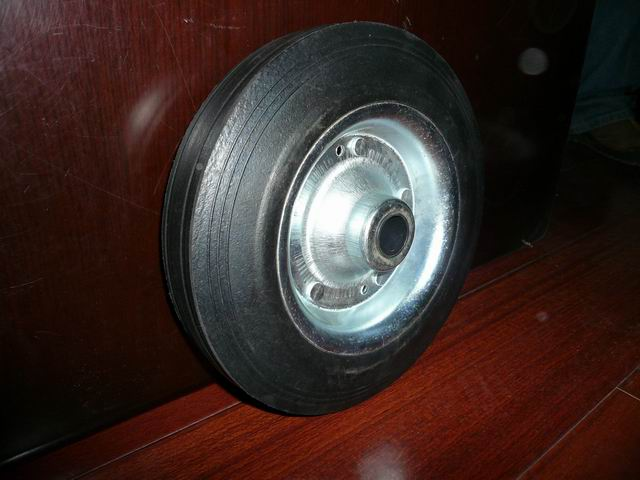crumb rubber wheel
