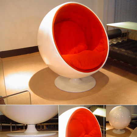 Eero Aarnio Designer Modern Classic Furniture Ball Chair Click On Image To  Enlarge