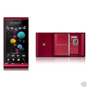 BRAND NEW GSM UNLOCKED SONY ERICSSON U1 U1i SATIO (RED)