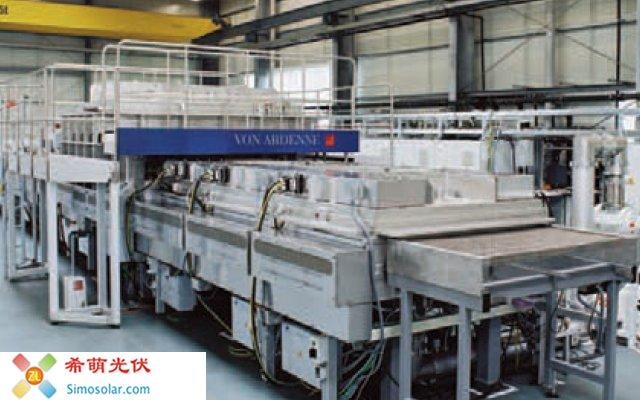 Plasma Metallizer for amorphous silicon PV solar cells