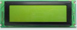 Graphic Lcd Module 240x64, STN Yellow, With Led Backlight