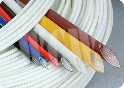 Silicone Coated Fiberglass insulation Sleeving