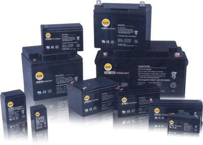 12V & 6V VRLA Shield Maintenance Free Batteries available