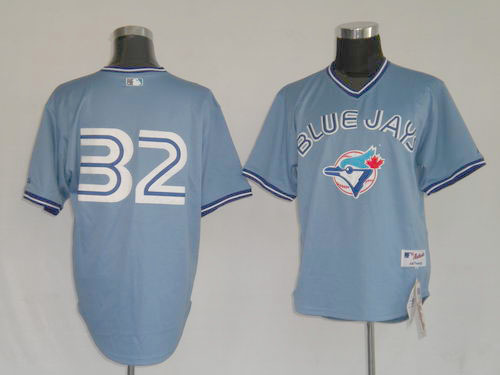 new product 7bb62 8310e Toronto Blue Jays #32 Roy Halladay Blue MLB Replica Jersey ...