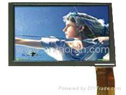 TFT LCD Module 4.3 inch with/out touch screen