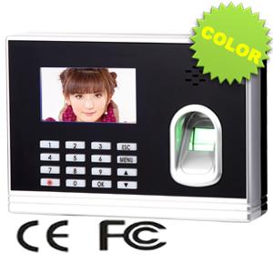 ZKS-iColor7 Fingerprint time attendance access control