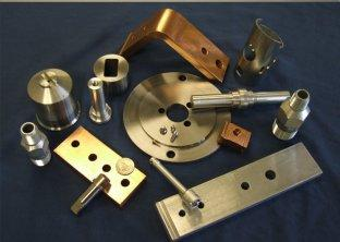 Brass and special material Machined Parts