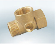 Copper pipe fittings-4 way